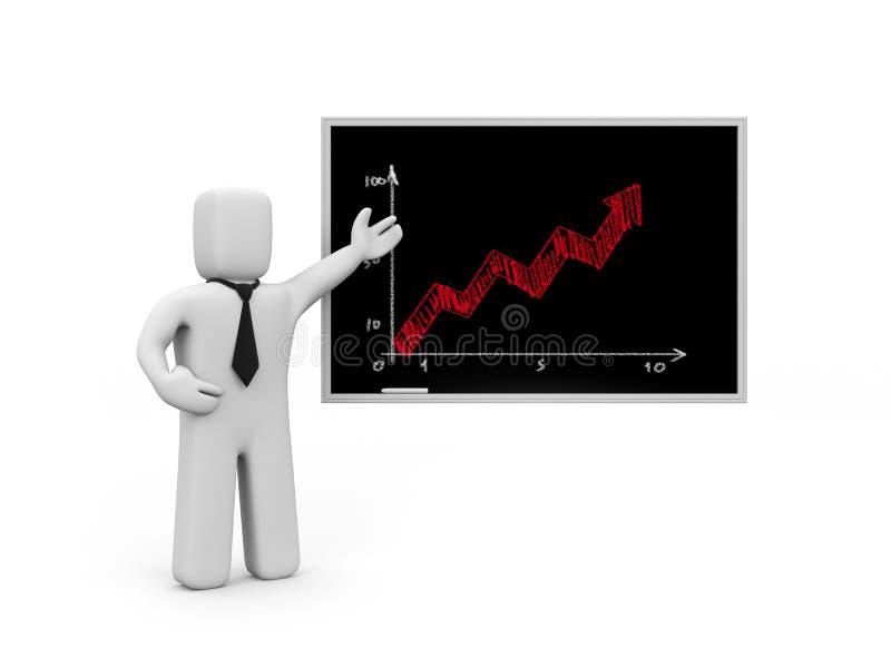 Geschäftslektion. Verbesserung der Berufsfähigkeit vektor abbildung
