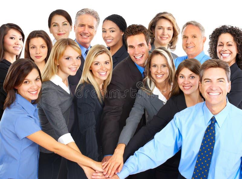Geschäftsleute stockbild