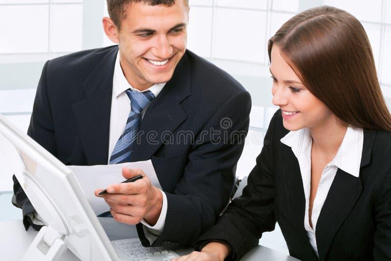 Geschäftsleute lizenzfreie stockfotografie
