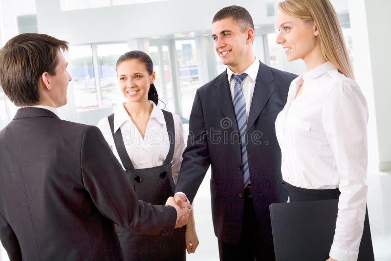 Geschäftsleute lizenzfreies stockbild