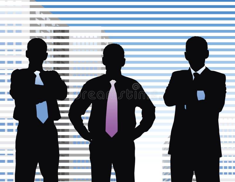 Geschäftsleute stock abbildung