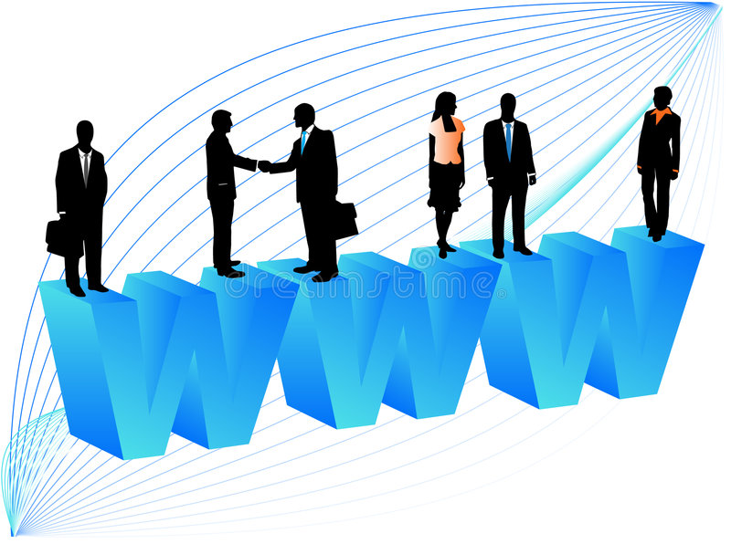 Geschäftsleute vektor abbildung