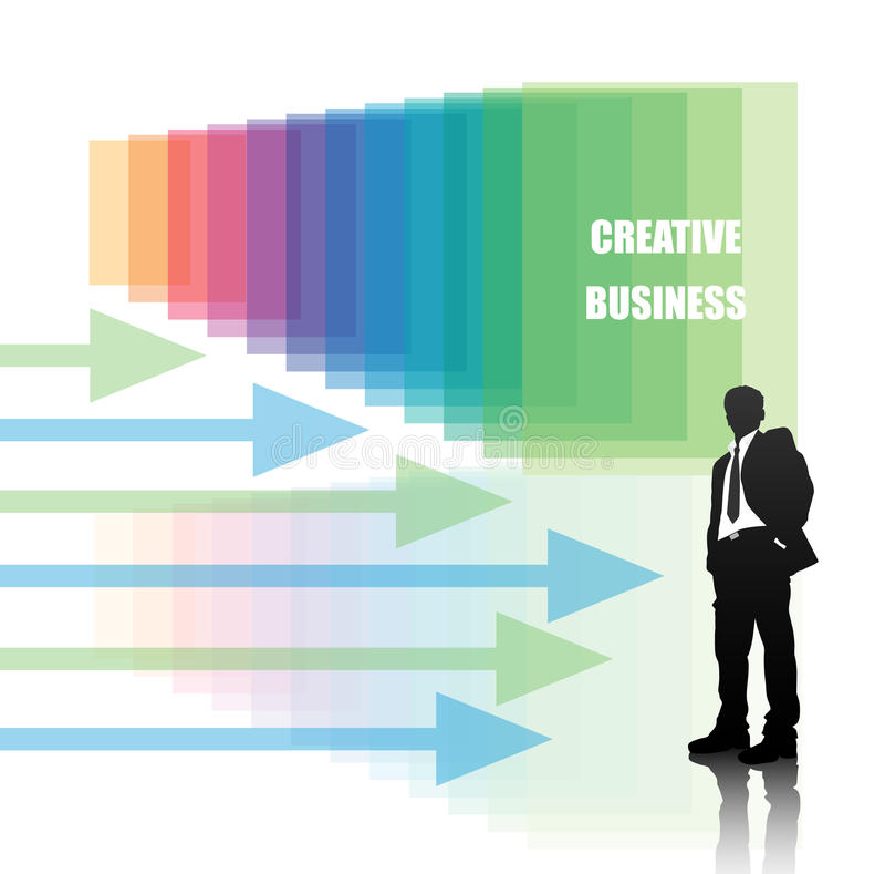 Geschäftsleute lizenzfreie abbildung