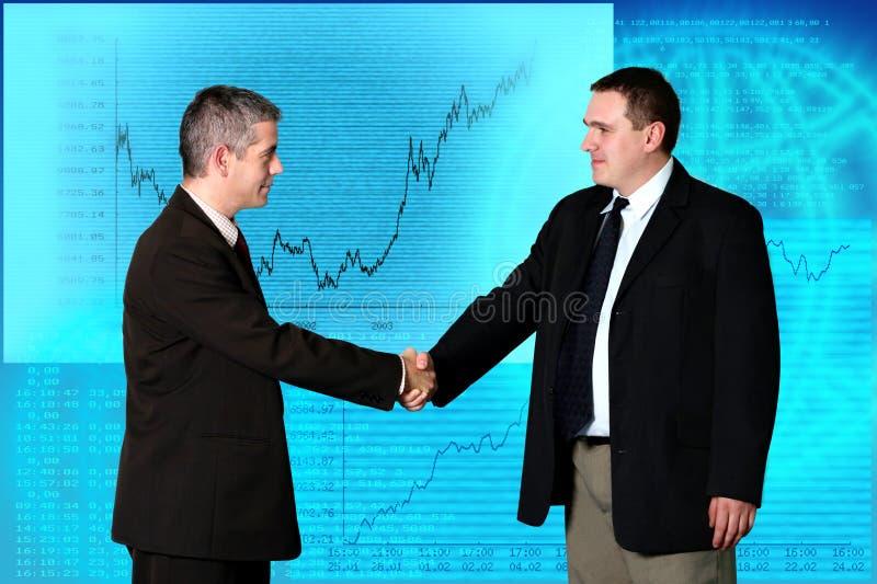 Geschäftsleute - Abkommen stockfotografie