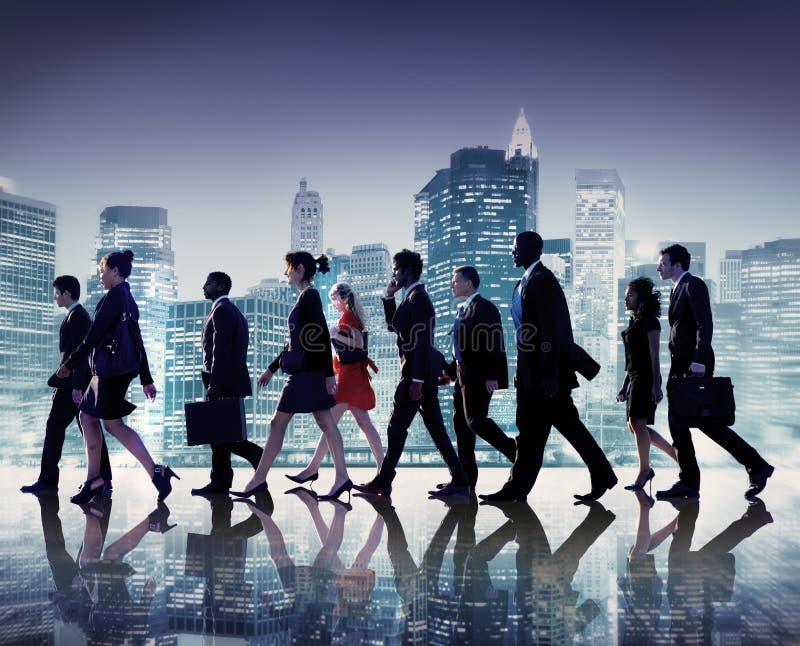 Geschäftsleute der Zusammenarbeits-Team Teamwork Professional Concept lizenzfreies stockfoto