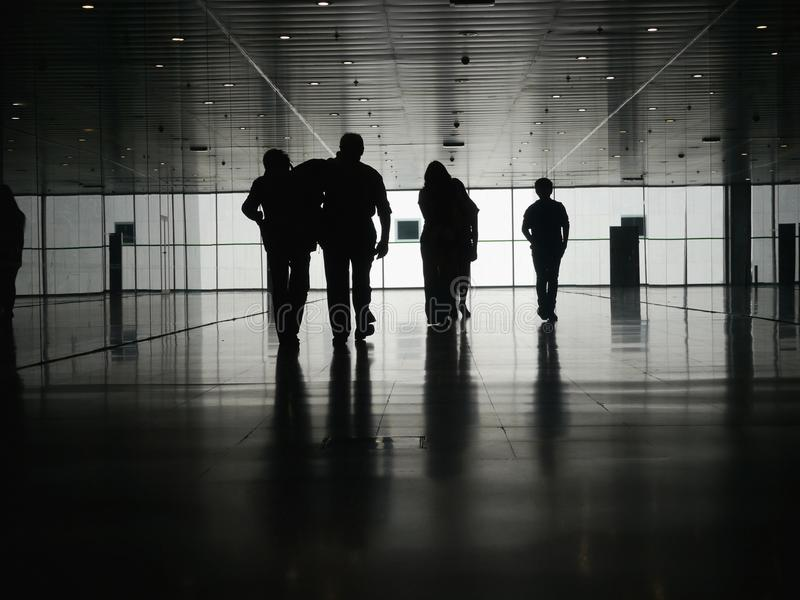 Geschäftsleute Fußgänger stockfotografie