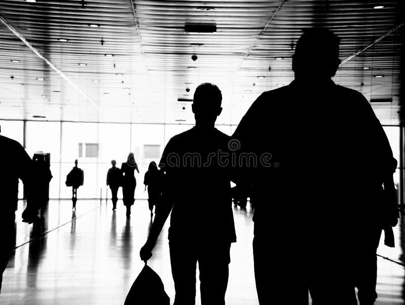 Geschäftsleute Fußgänger lizenzfreie stockfotografie