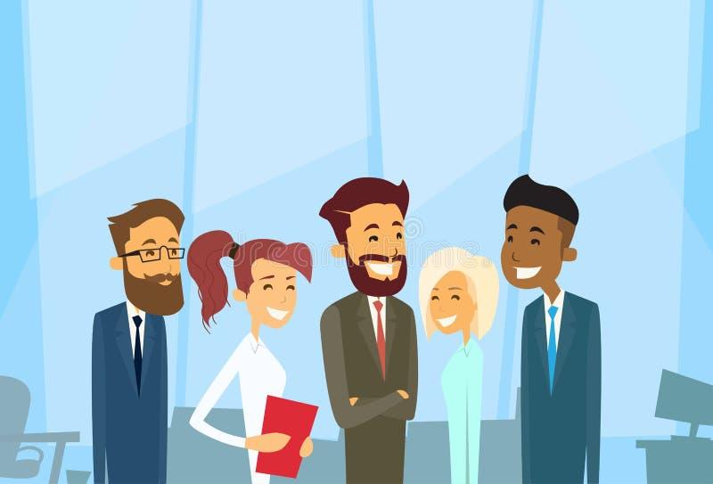 Geschäftsleute gruppieren verschiedenen Team Businesspeople vektor abbildung