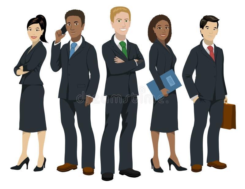 Geschäftsleute Illustration stock abbildung