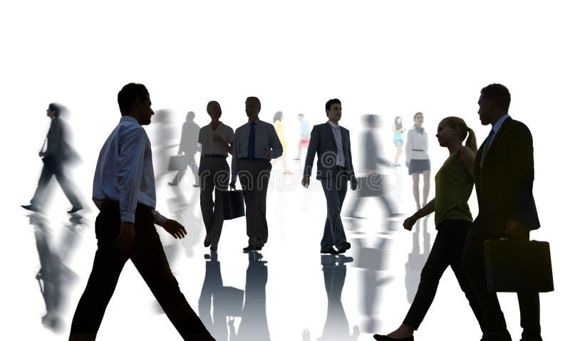 Geschäftsleute Kollege-Teamwork-Sitzungs-Seminar-Konzept- stock abbildung