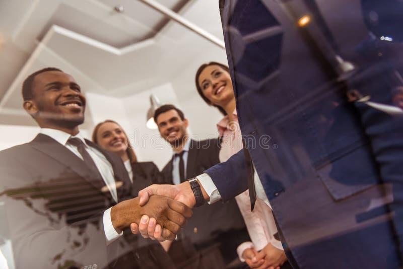 Geschäftsleute Konferenz stockfoto