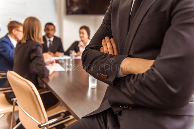Geschäftsleute Konferenz stockbilder