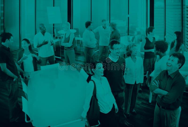 Geschäftsleute Team Teamwork Cooperation Partnership Concept stockbilder