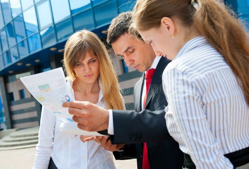 Geschäftsleute Treffen lizenzfreies stockfoto