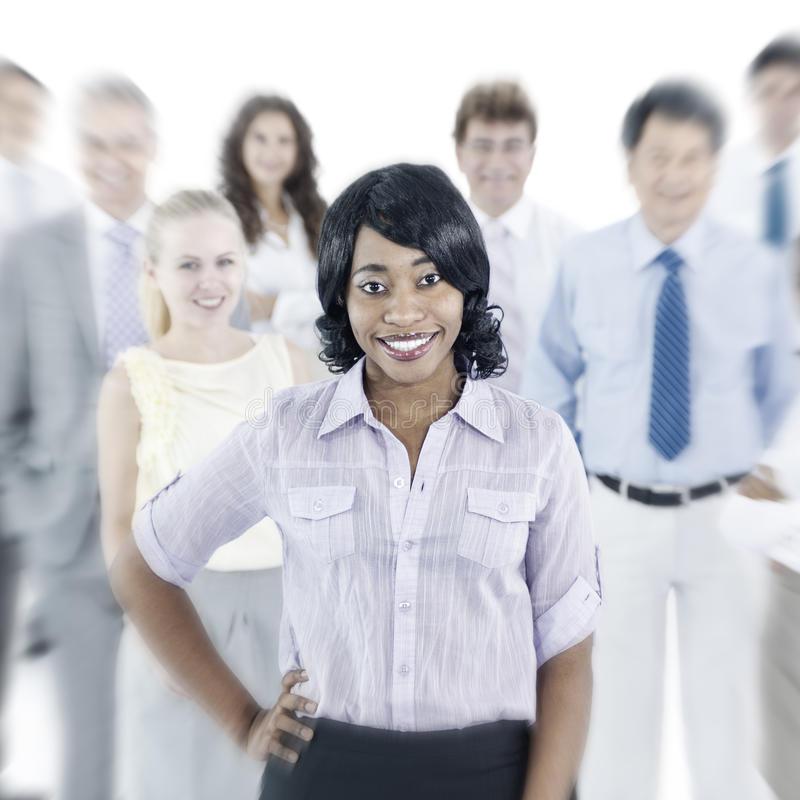 Geschäftsleute Unternehmensteamwork-Zusammengehörigkeits-Konzept- lizenzfreie stockfotografie