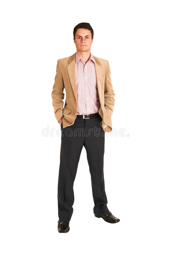 Geschäftsmann #120 lizenzfreies stockfoto