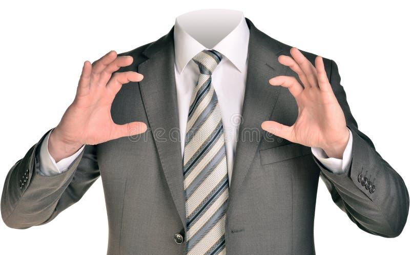 Geschäftsmann Body lizenzfreie stockfotos