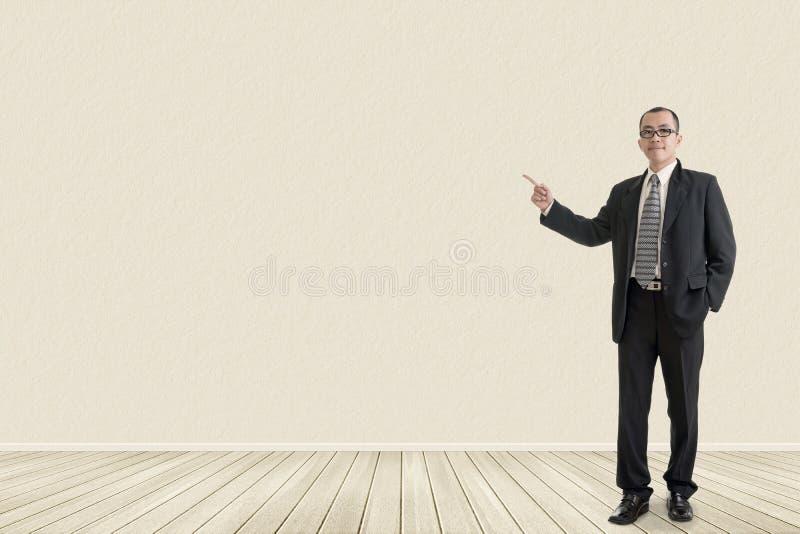 Geschäftsmann führen ein lizenzfreie stockfotos