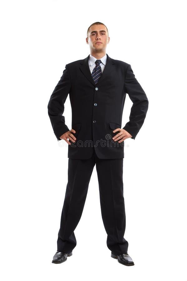 Geschäftsmann-Portrait lizenzfreie stockfotos