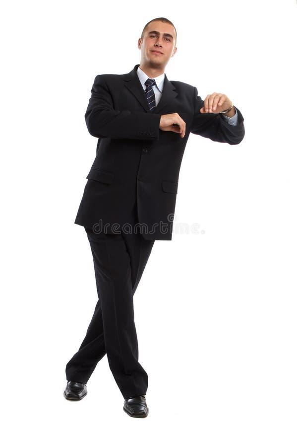 Geschäftsmann-Portrait lizenzfreies stockbild