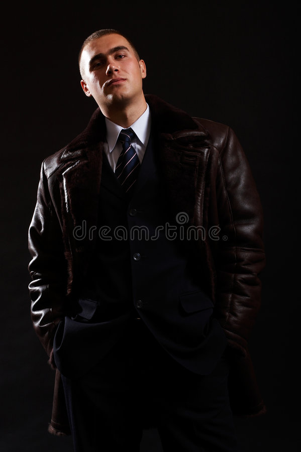 Geschäftsmann-Portrait stockfotos