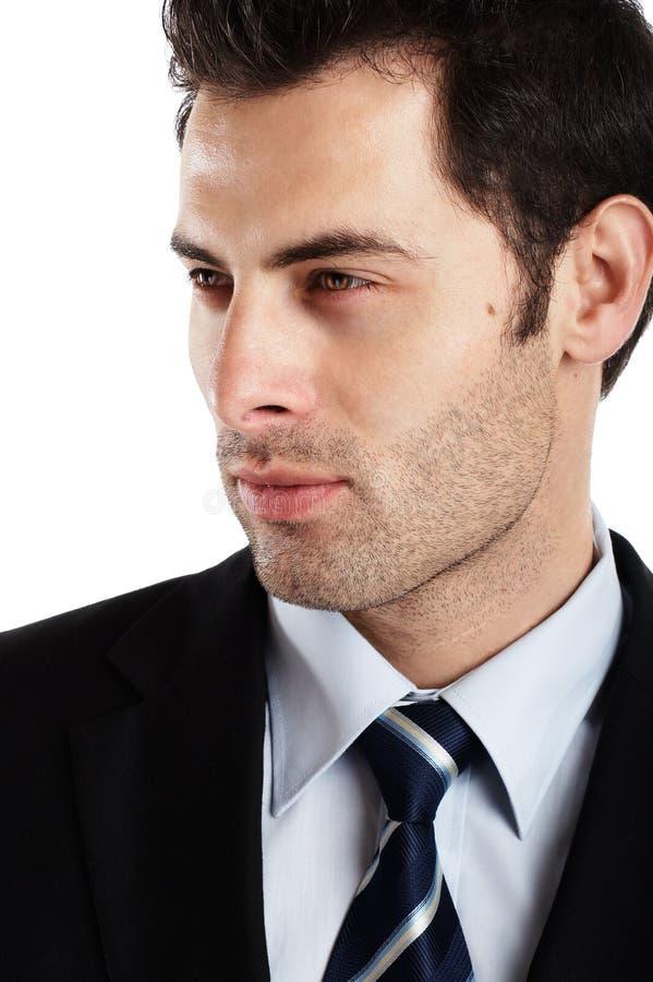 Geschäftsmann-Portrait lizenzfreie stockbilder