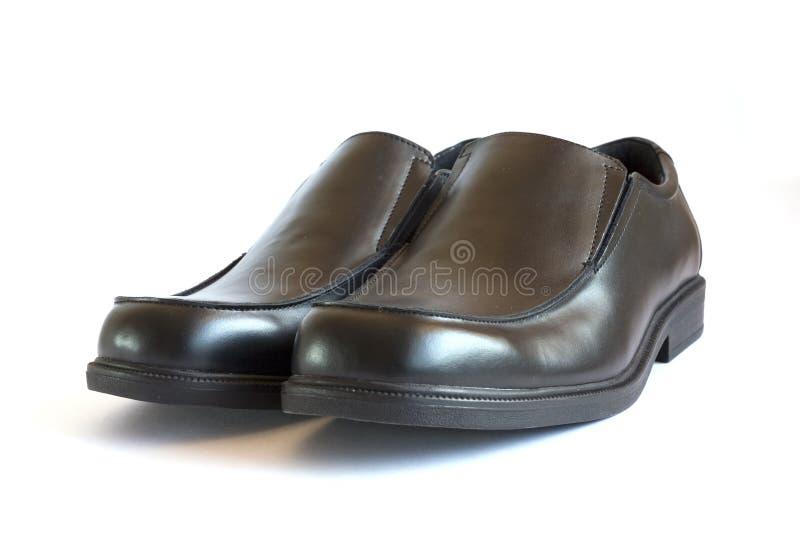 Geschäftsmann-Schuhe stockbild