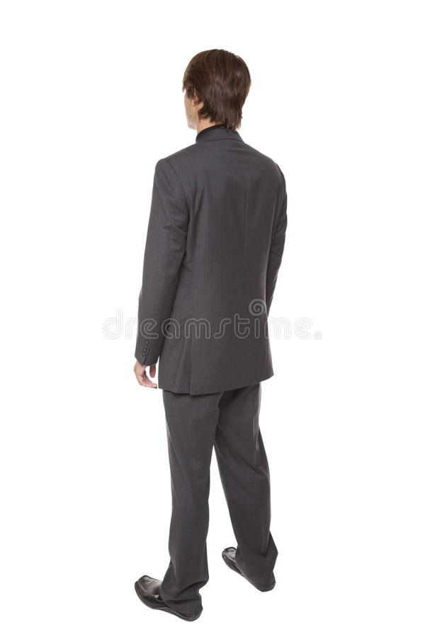Geschäftsmann - Umdrehung stockfoto