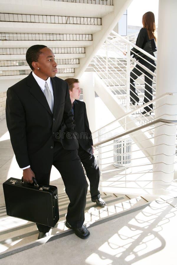 Geschäftsmann-Verfolgung stockbilder