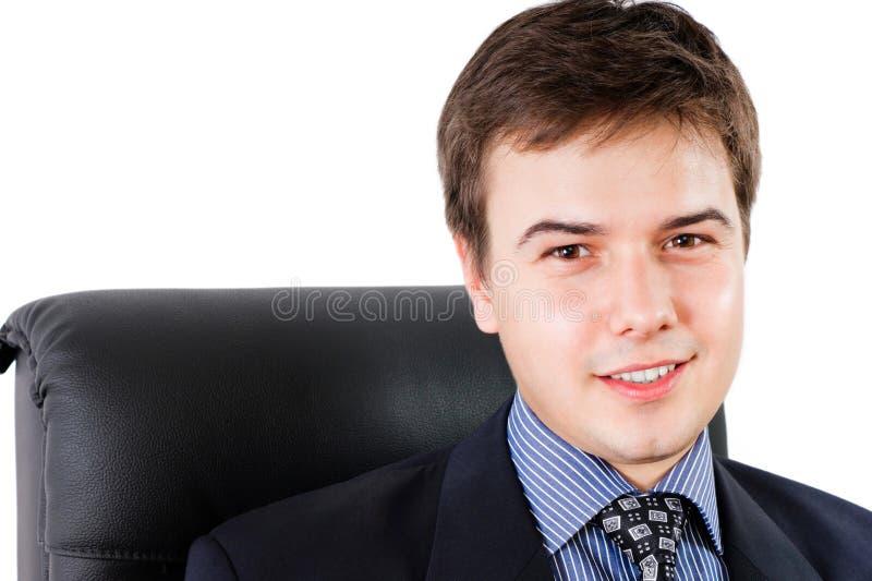 Geschäftsmannportrait stockfotos