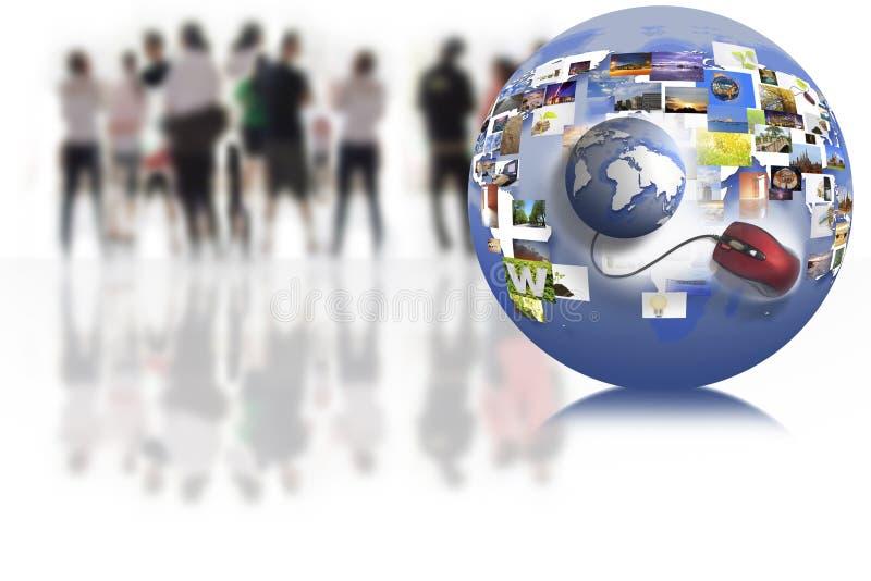 Geschäftsnetz lizenzfreies stockfoto
