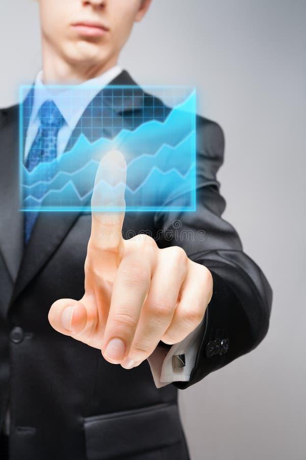 Geschäftsprognose lizenzfreie stockfotografie