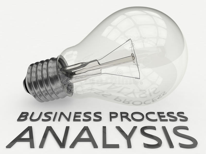 Geschäftsprozess-Analyse vektor abbildung