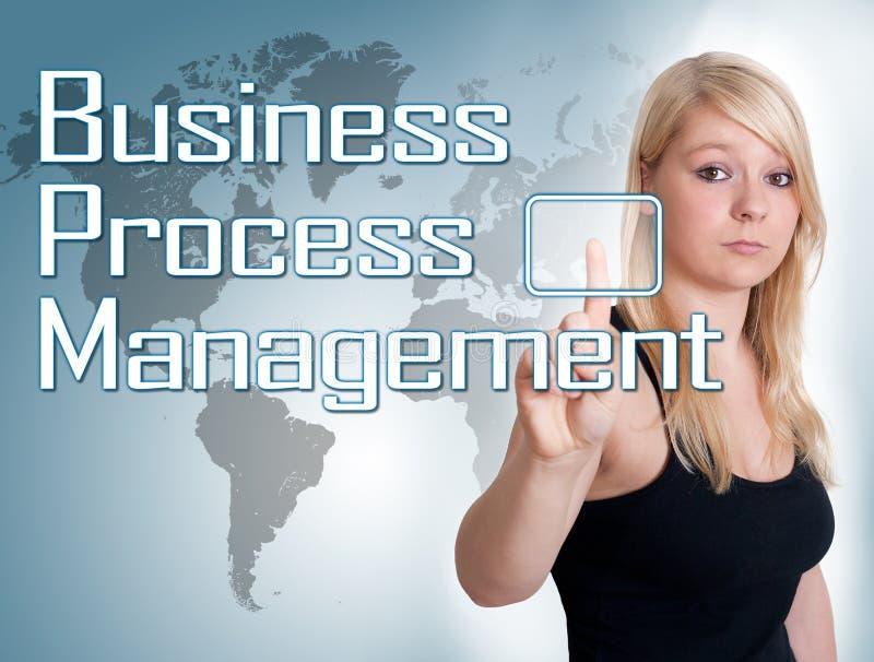 Geschäftsprozess-Management stockbild