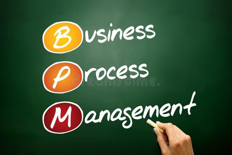 Geschäftsprozess-Management lizenzfreies stockbild
