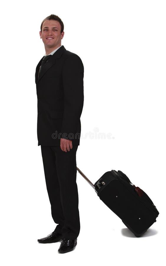 Geschäftsreisender stockfoto