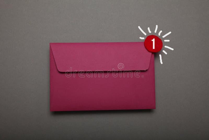 Geschäftsschwätzchenkommunikation, Newslettermitteilung lizenzfreie stockbilder