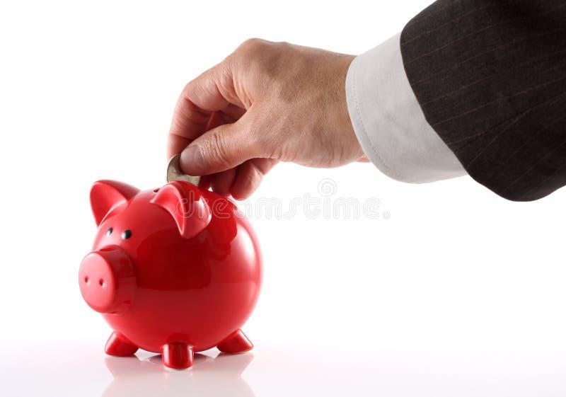 Geschäftssparungen lizenzfreies stockbild