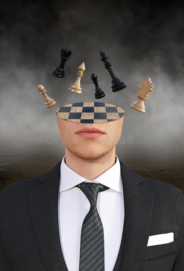 Geschäftsstrategie, Ideen, Innovation, Ziele lizenzfreies stockbild