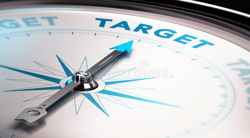 Geschäftsstrategie, strategisches Marketing lizenzfreie abbildung