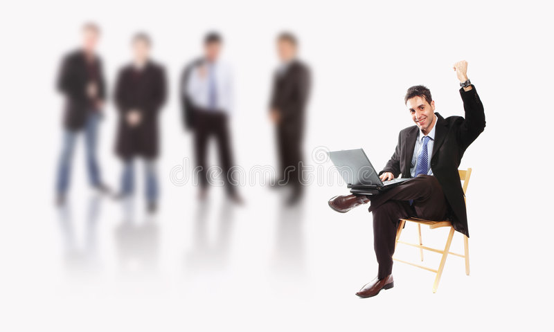 Geschäftsteam stockbild