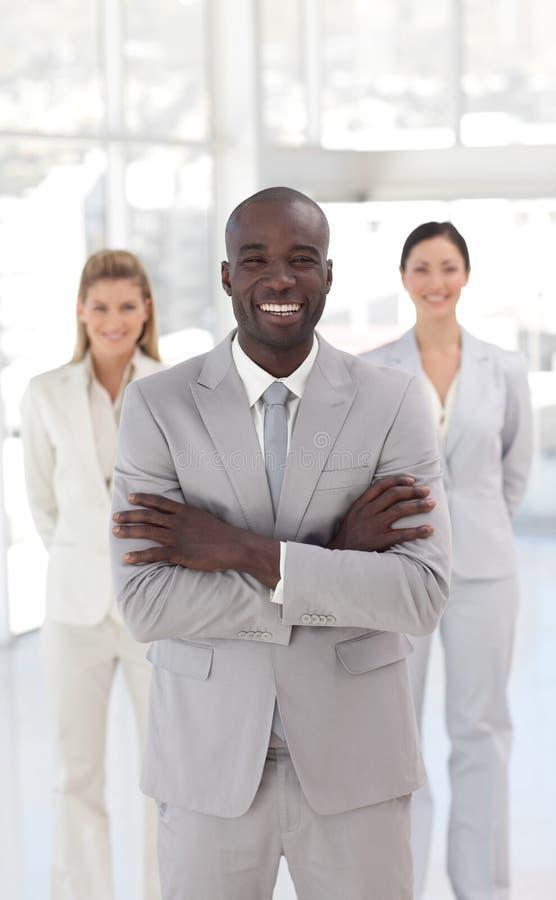 Download Geschäftsteam Bei Der Arbeit Im Büro Stockbild - Bild von leute, glück: 9098427
