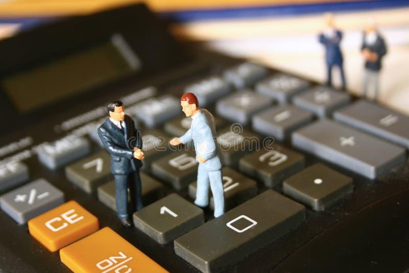 Geschäftsteilhaberschaft lizenzfreies stockbild