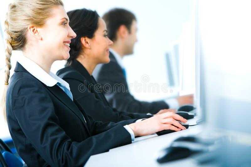 Geschäftstraining lizenzfreies stockfoto