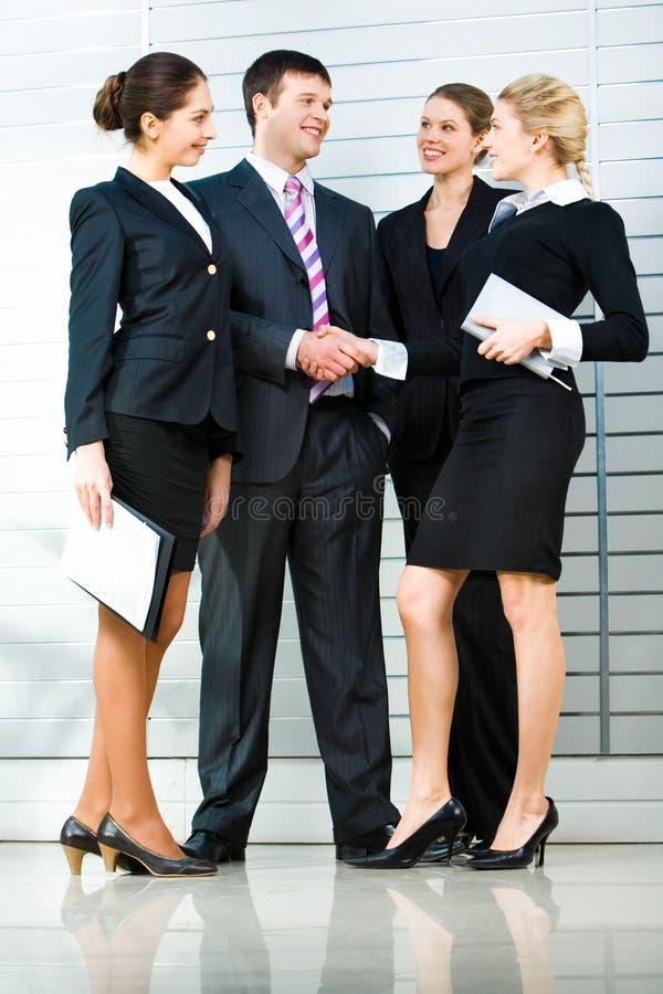 Geschäftstreffen stockfotos