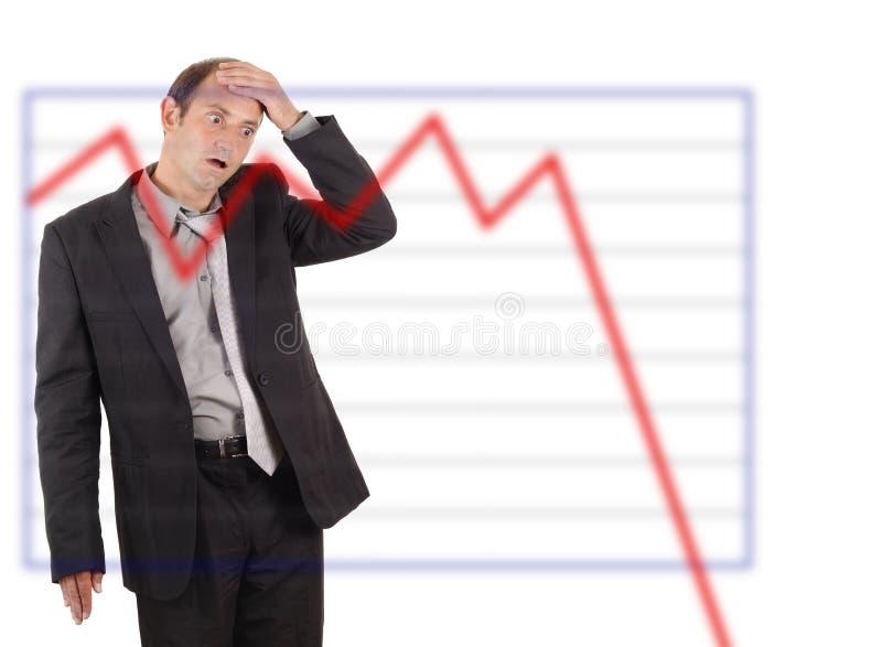 Geschäftsunfall lizenzfreies stockfoto