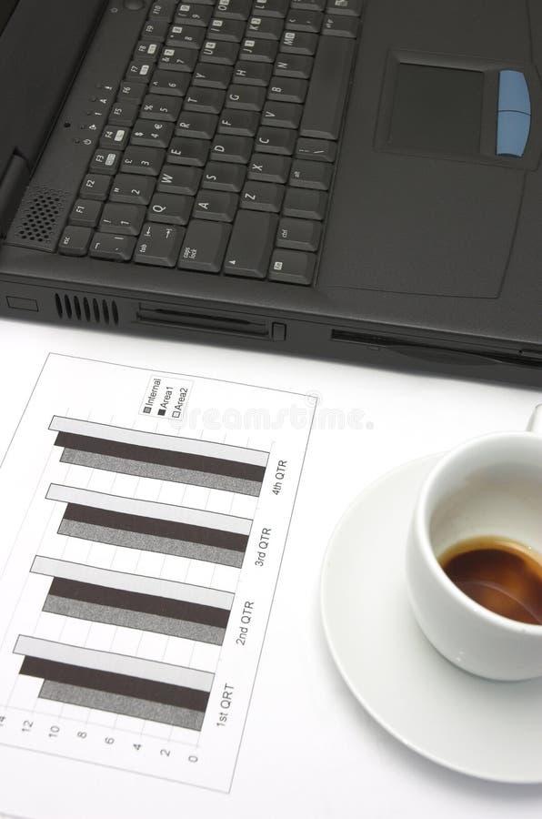 Geschäftswachstumdiagramm. stockbilder