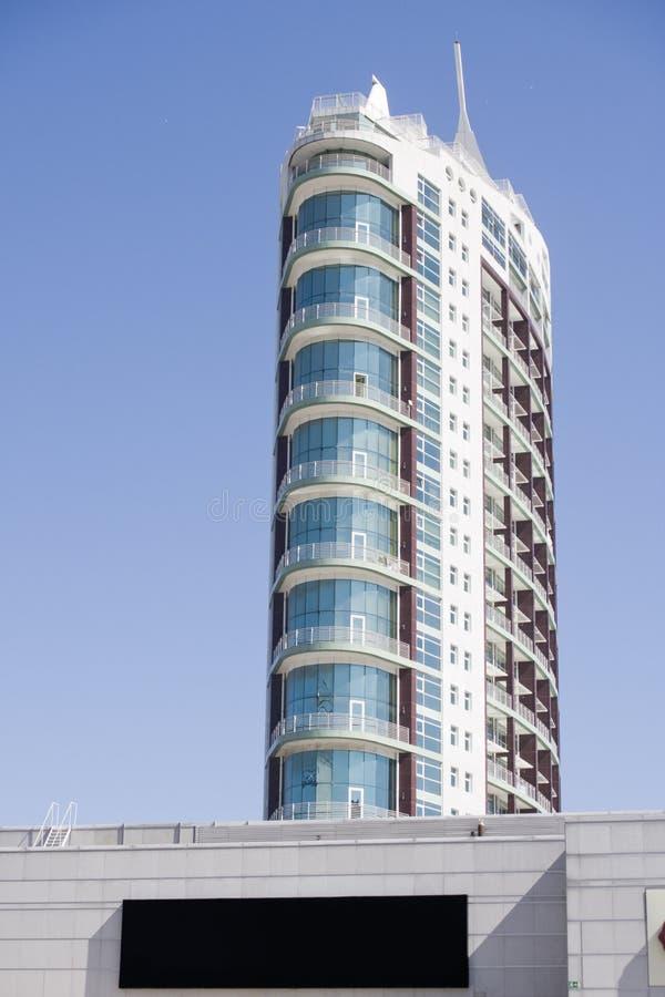 Geschäftszentrum des modernen Architekturgebäudes stockfoto