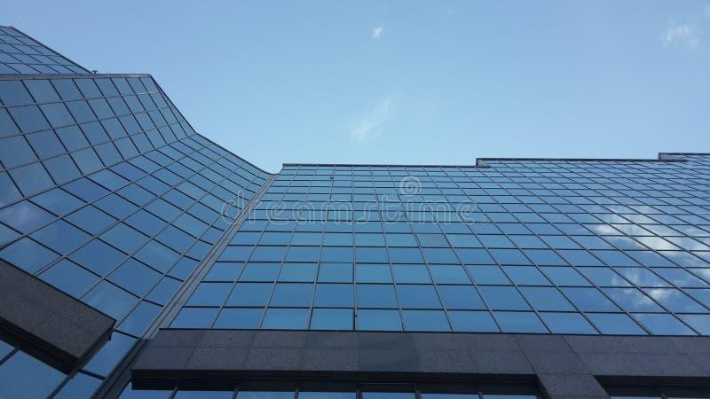Geschäftszentrum Nurly Tau lizenzfreie stockfotografie