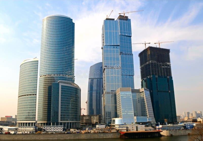 Geschäftszentrum, Russland stockfoto